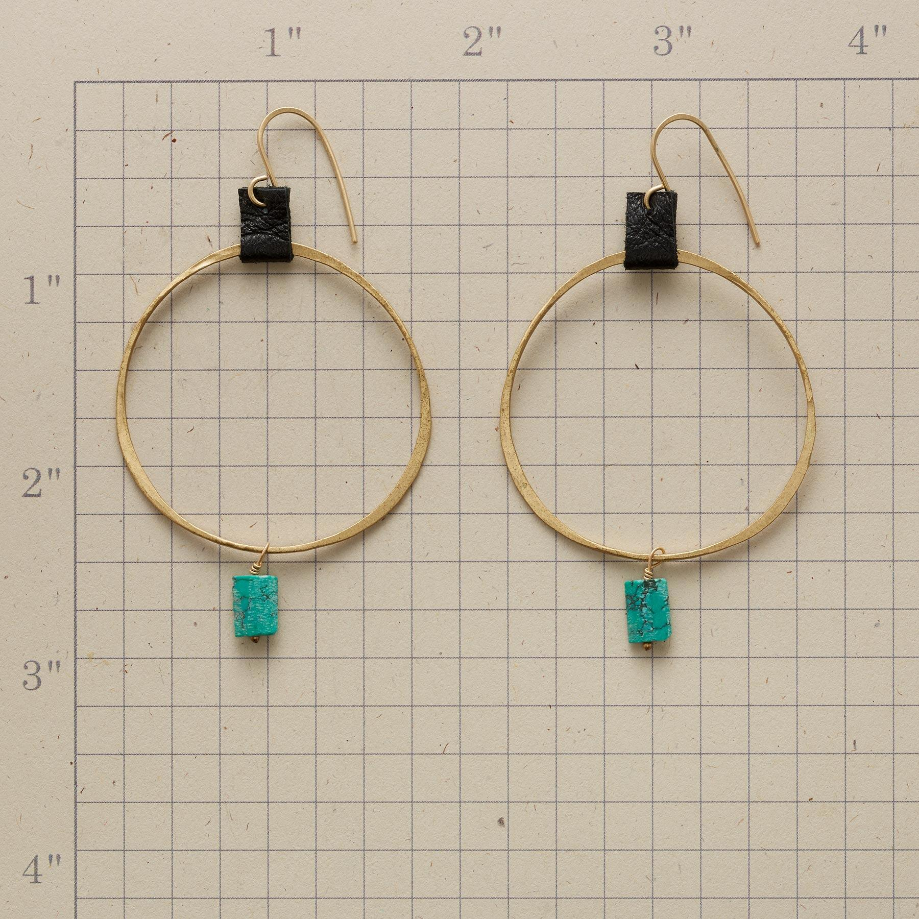 TAMSIN HOOP EARRINGS: View 2