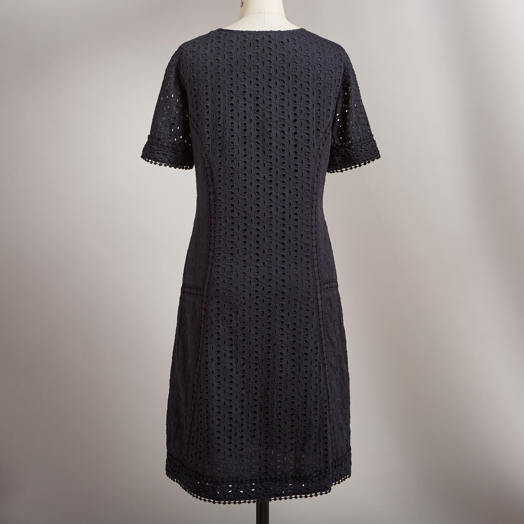 EYELET DELIGHT DRESS: View 2