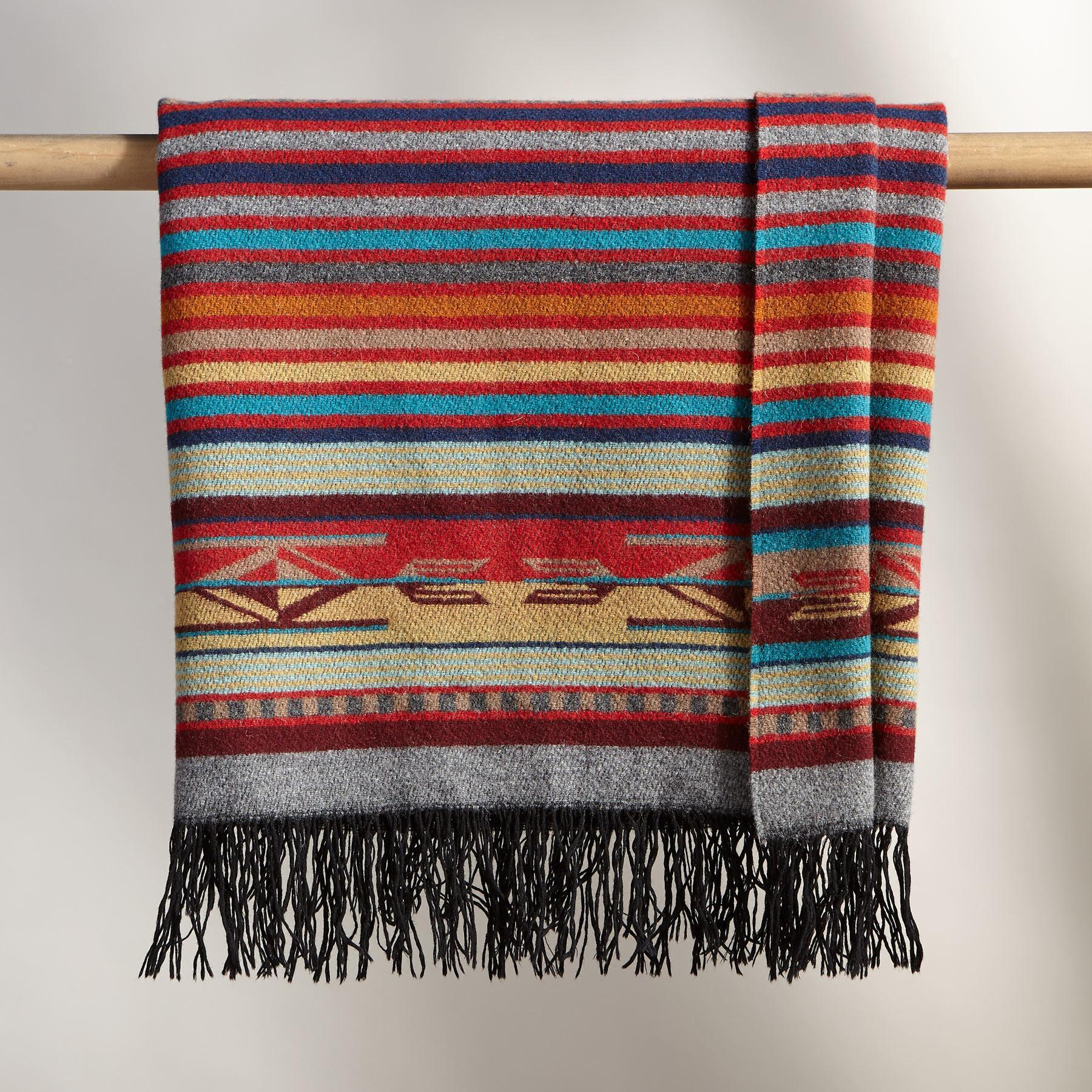 PENDLETON CHIMAYO GARNET THROW: View 2