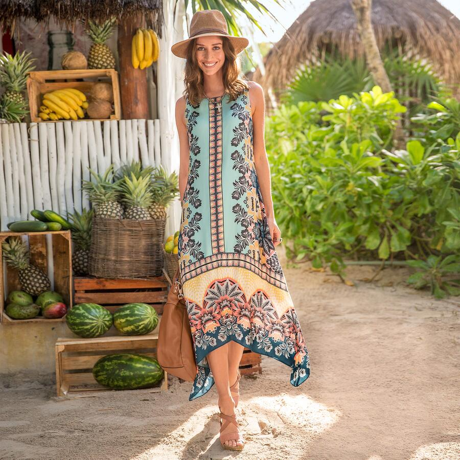 ENCHANTED ISLAND DRESS