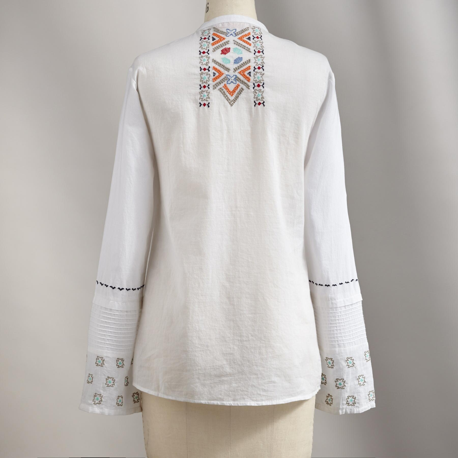 ART OF EMBROIDERY TUNIC: View 2