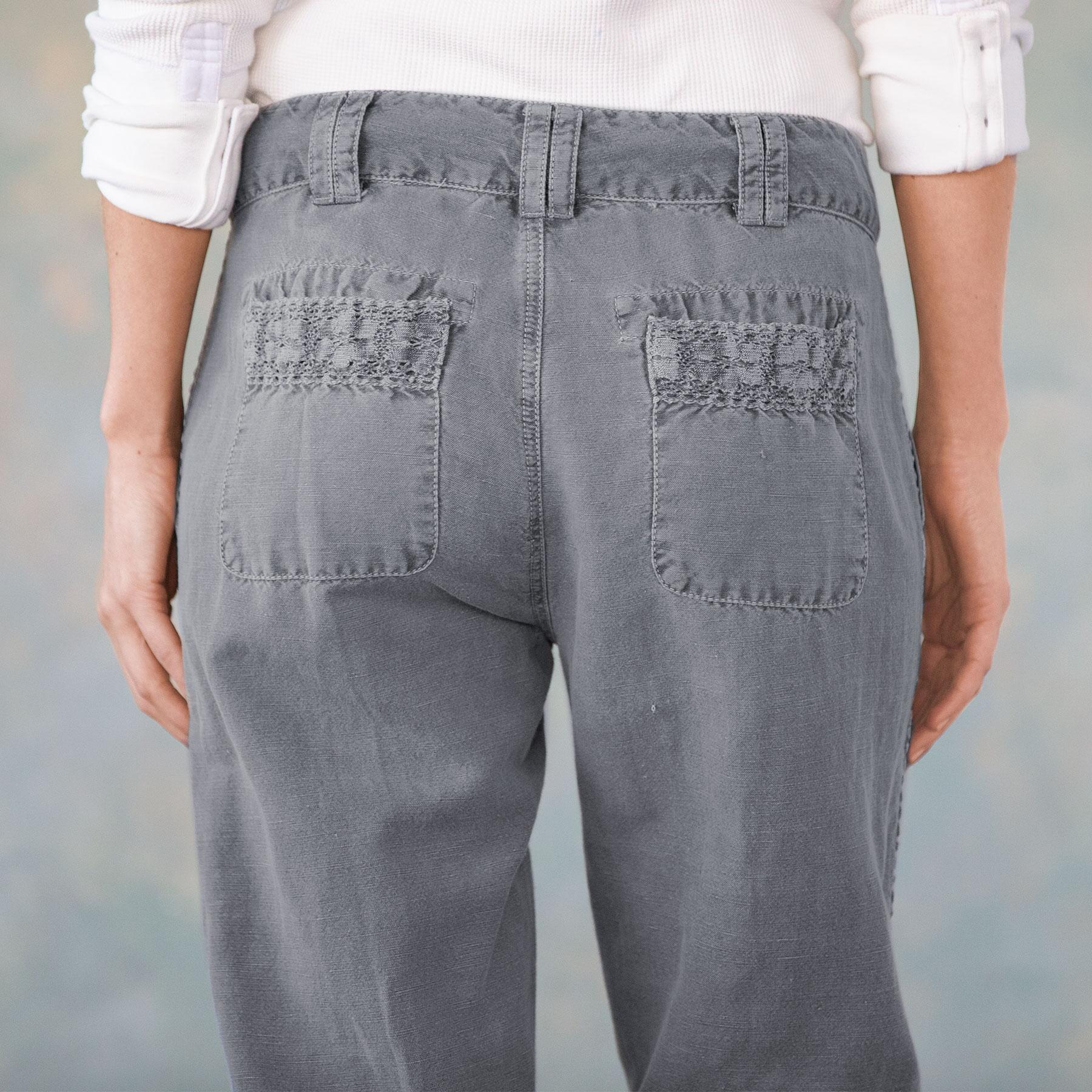 ORGANIA LACE PANTS: View 7