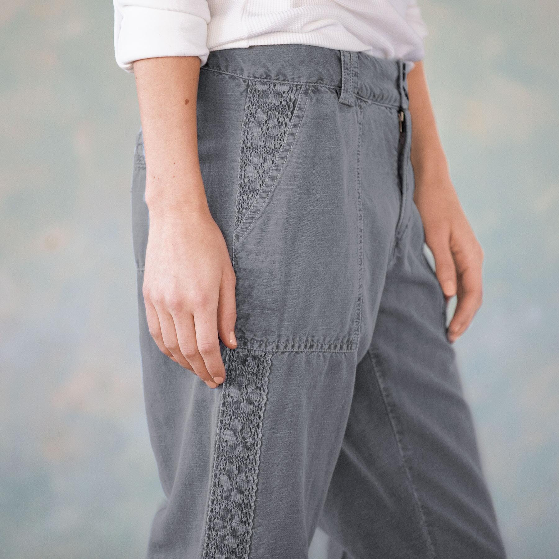 ORGANIA LACE PANTS - PETITES: View 5