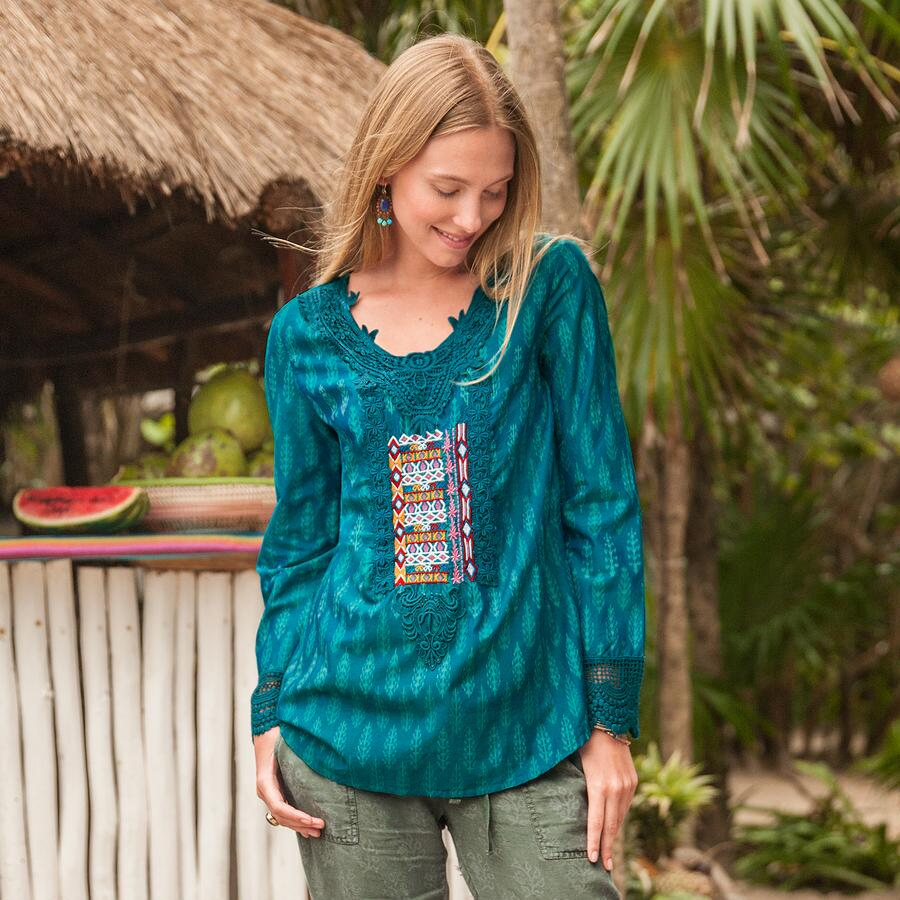 BEYOND THE HORIZON TUNIC