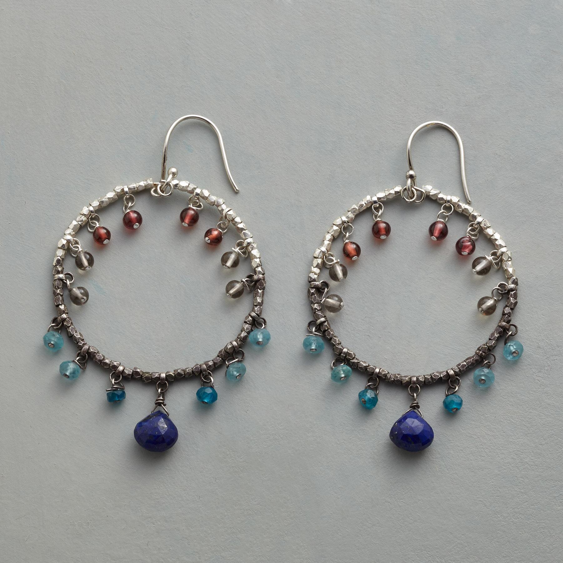 OMBRé HOOP EARRINGS: View 1