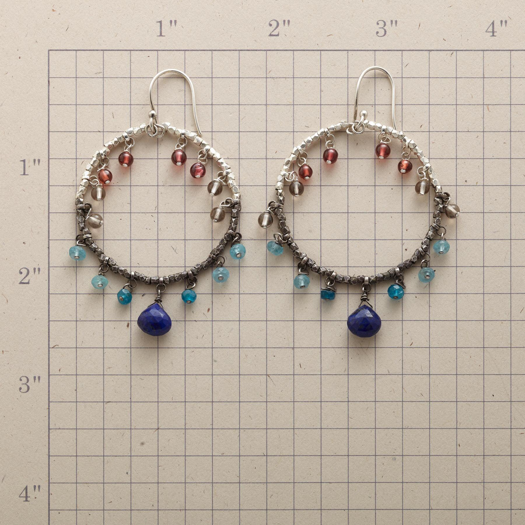 OMBRé HOOP EARRINGS: View 2