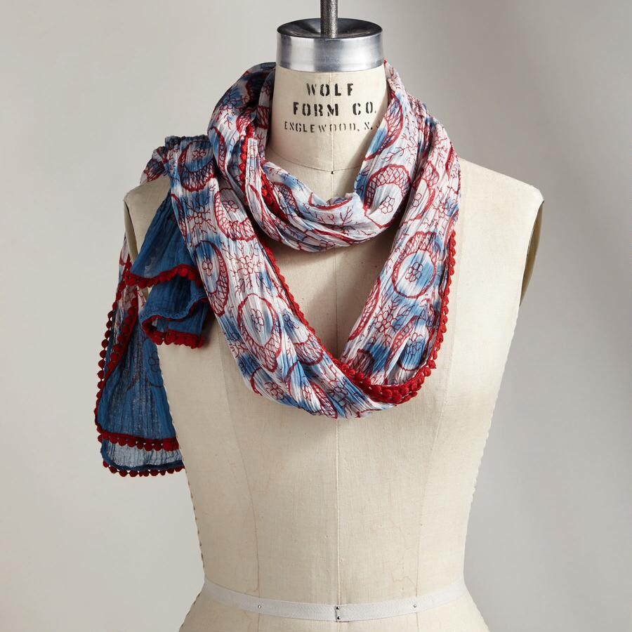 GARDEN OF JEWELS SCARF