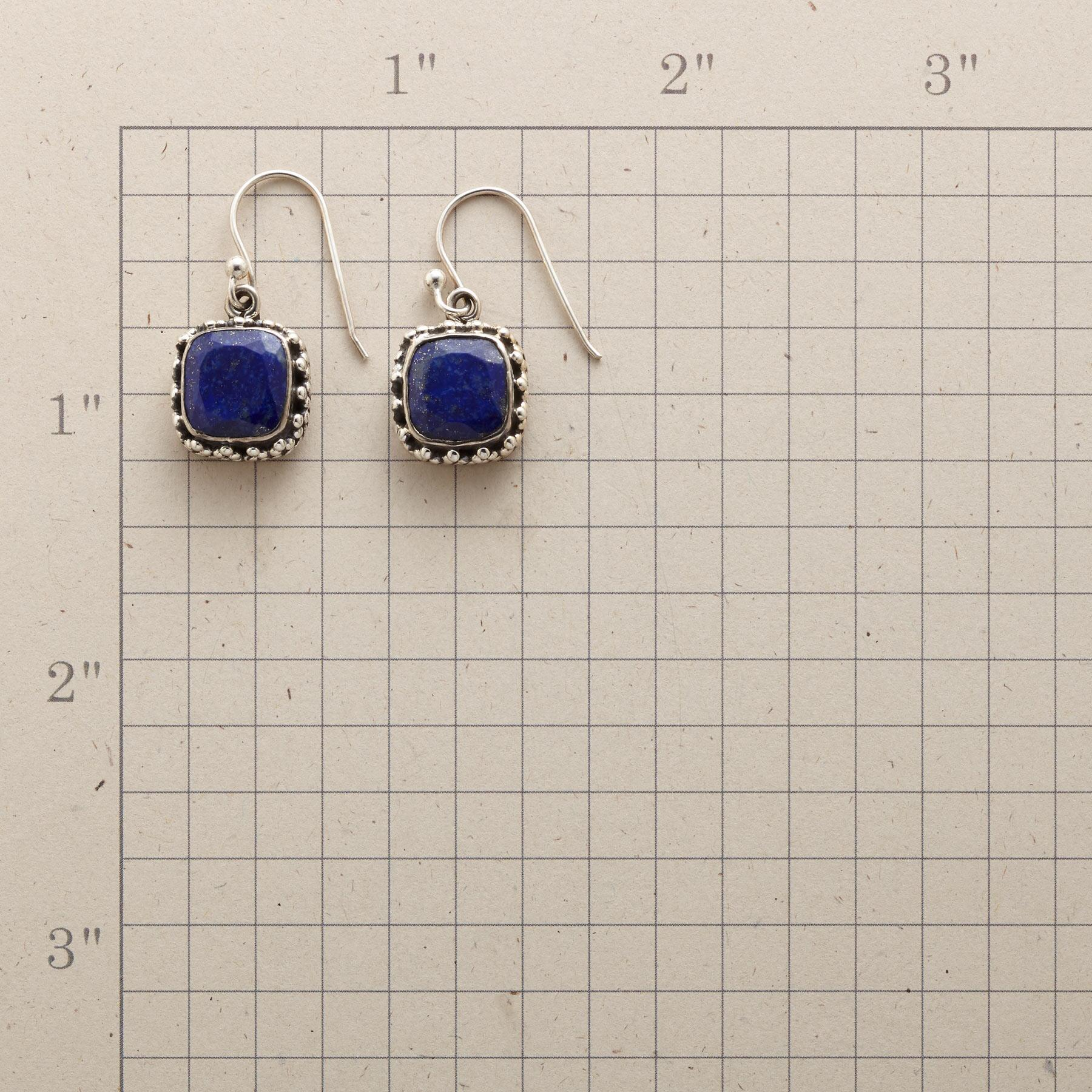 LAPIS JEWELBOX EARRINGS: View 2