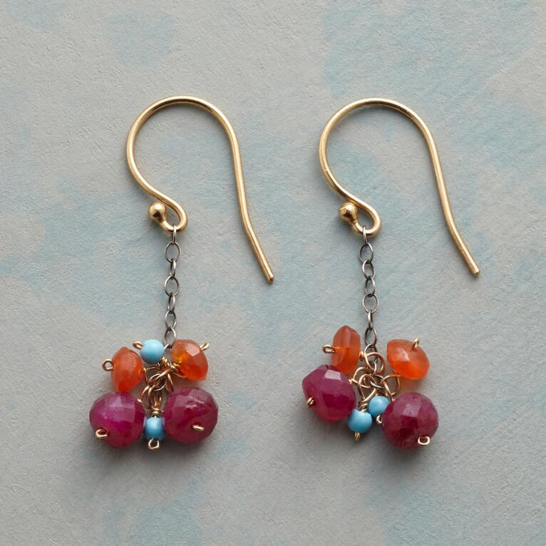 BERRY BUNCH EARRINGS