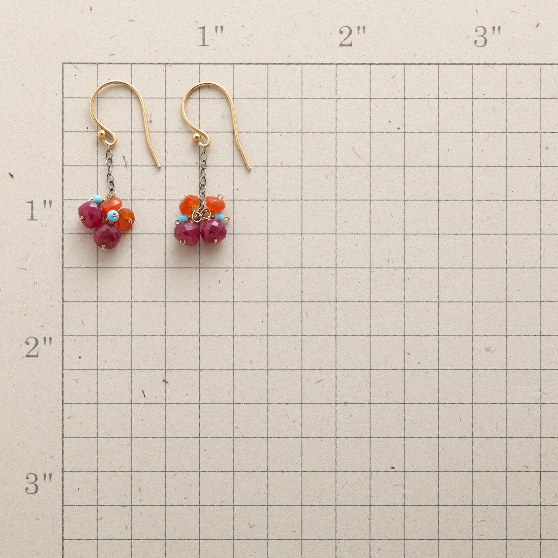BERRY BUNCH EARRINGS: View 2