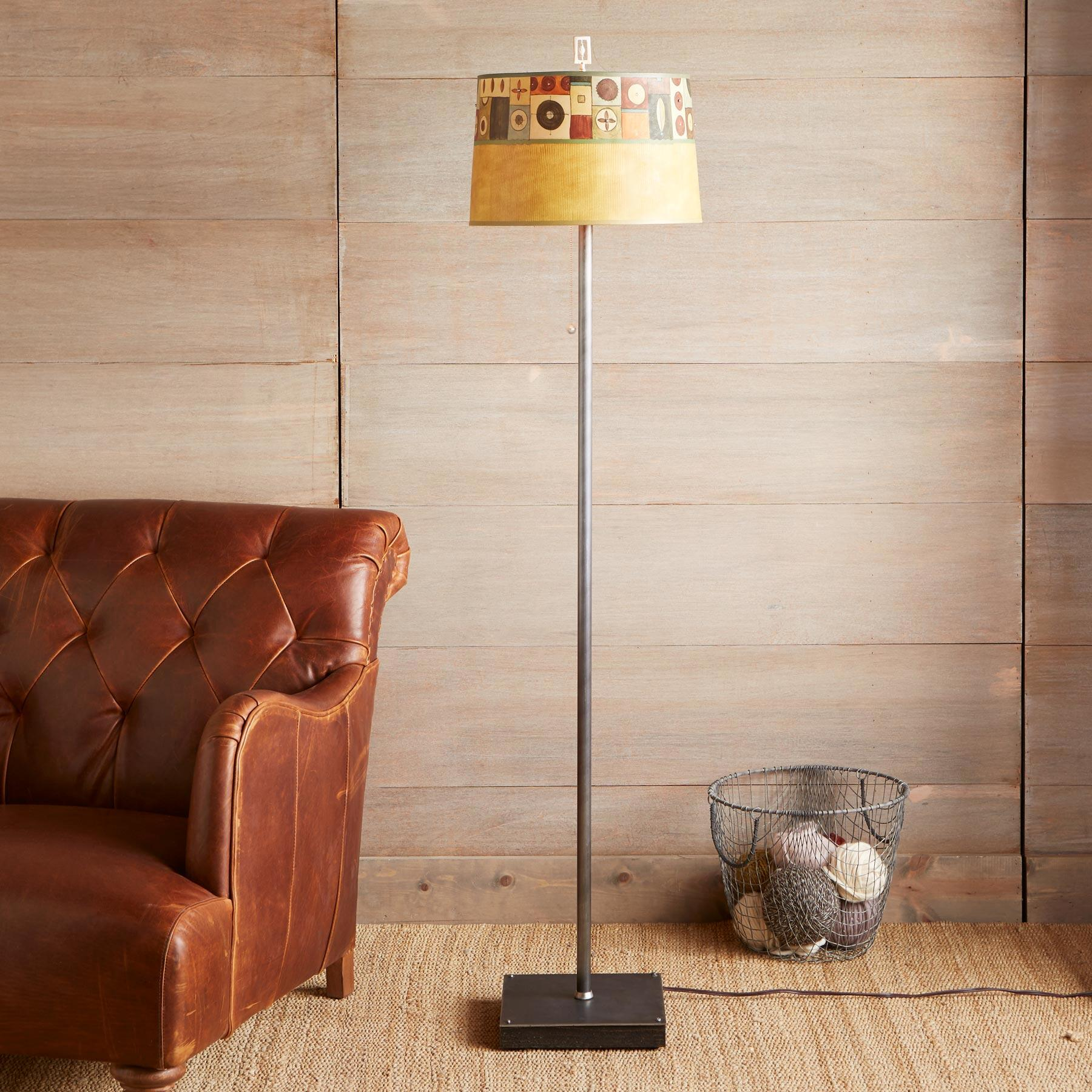 MODERN MOSAIC FLOOR LAMP: View 1