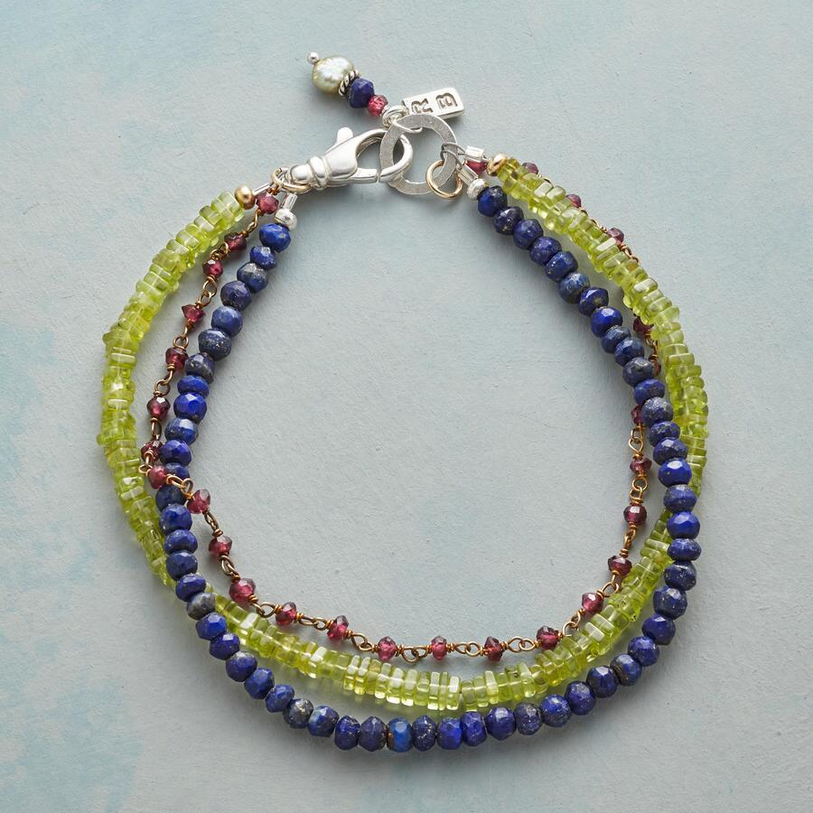 EYE OF THE PEACOCK BRACELET