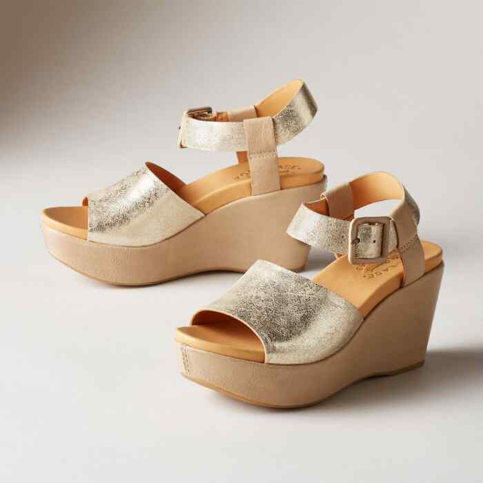 KEIRN WEDGE SANDALS