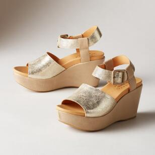 KEIRN WEDGE SANDALS BY KORK-EASE