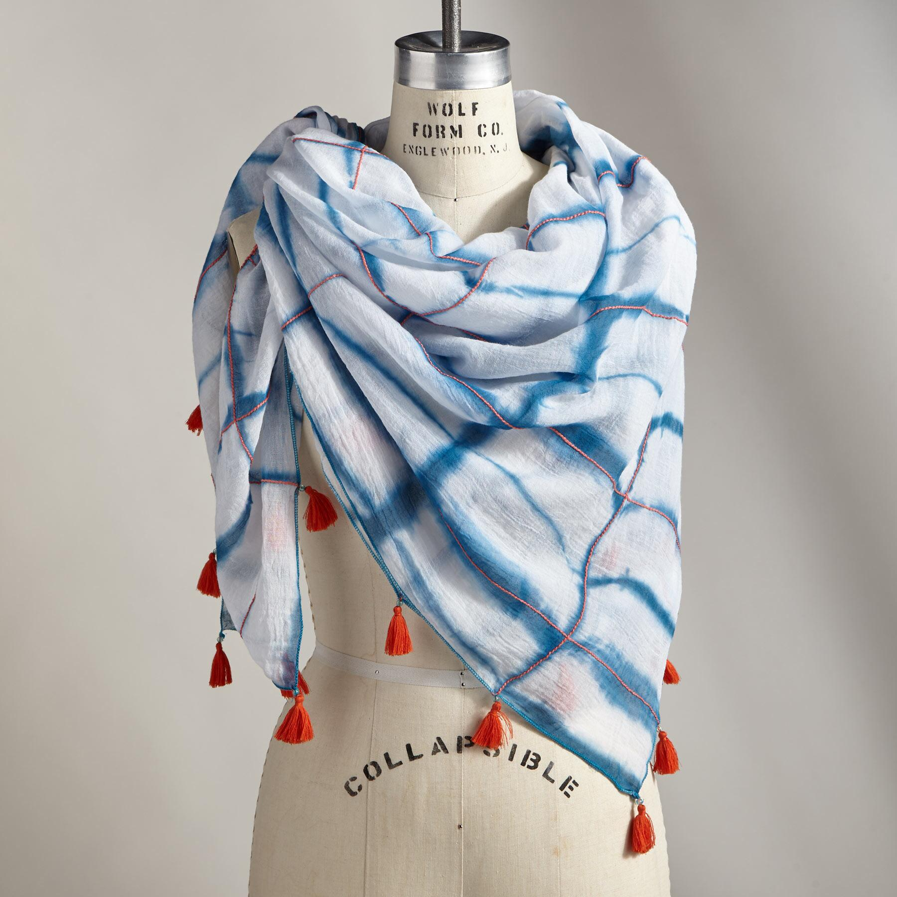 PEACEFUL WAVES SCARF: View 1
