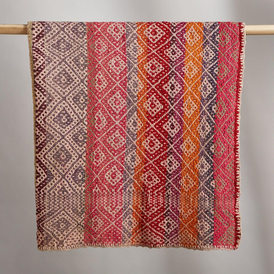 NAZCA PERUVIAN THROW