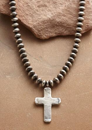 SOUTHWEST CROSS NECKLACE