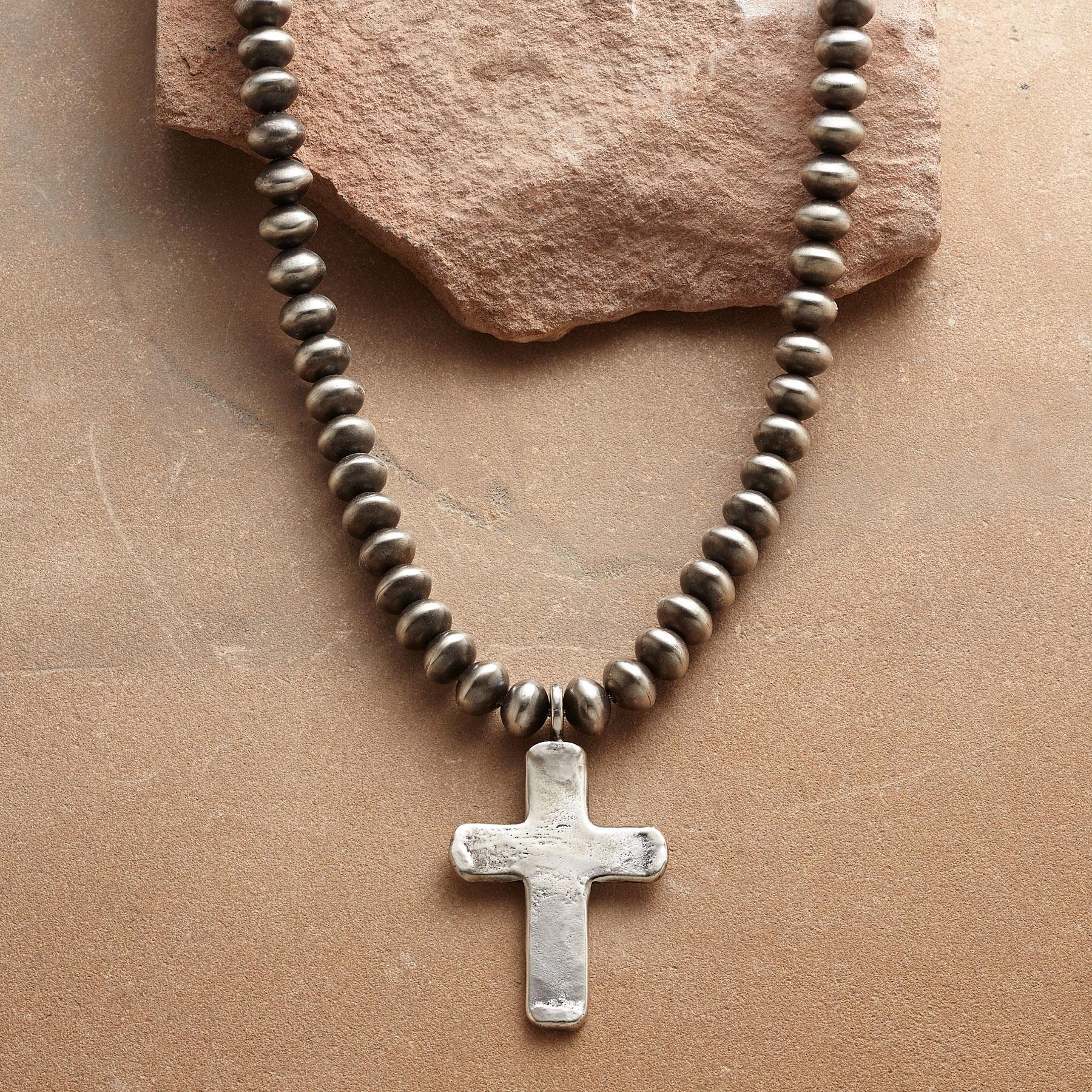 SOUTHWEST CROSS NECKLACE: View 1