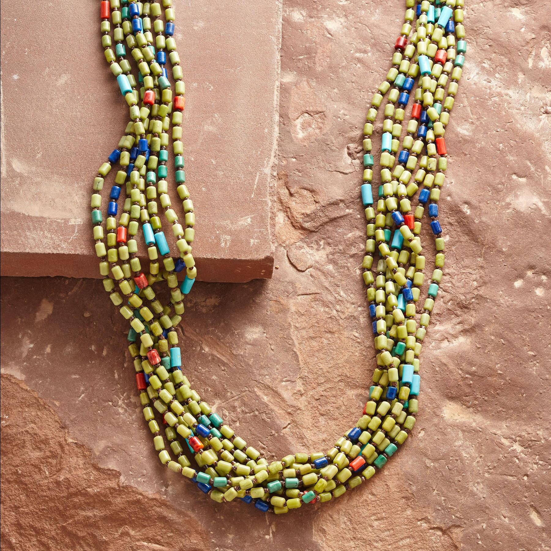 IRENE LOVATO TURQUOISE NECKLACE: View 1