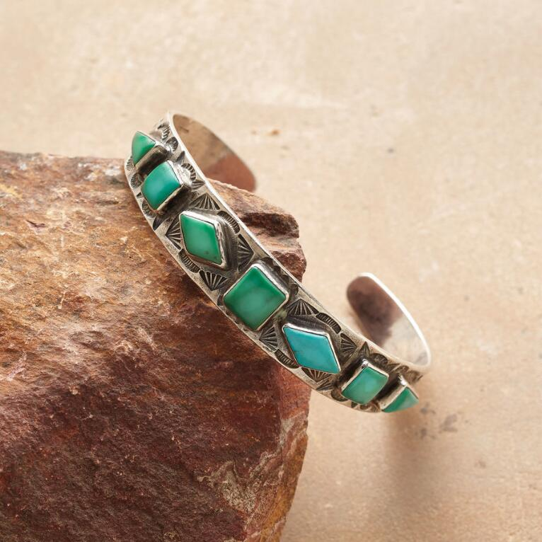 1930'S NAVAJO TURQUOISE CUFF