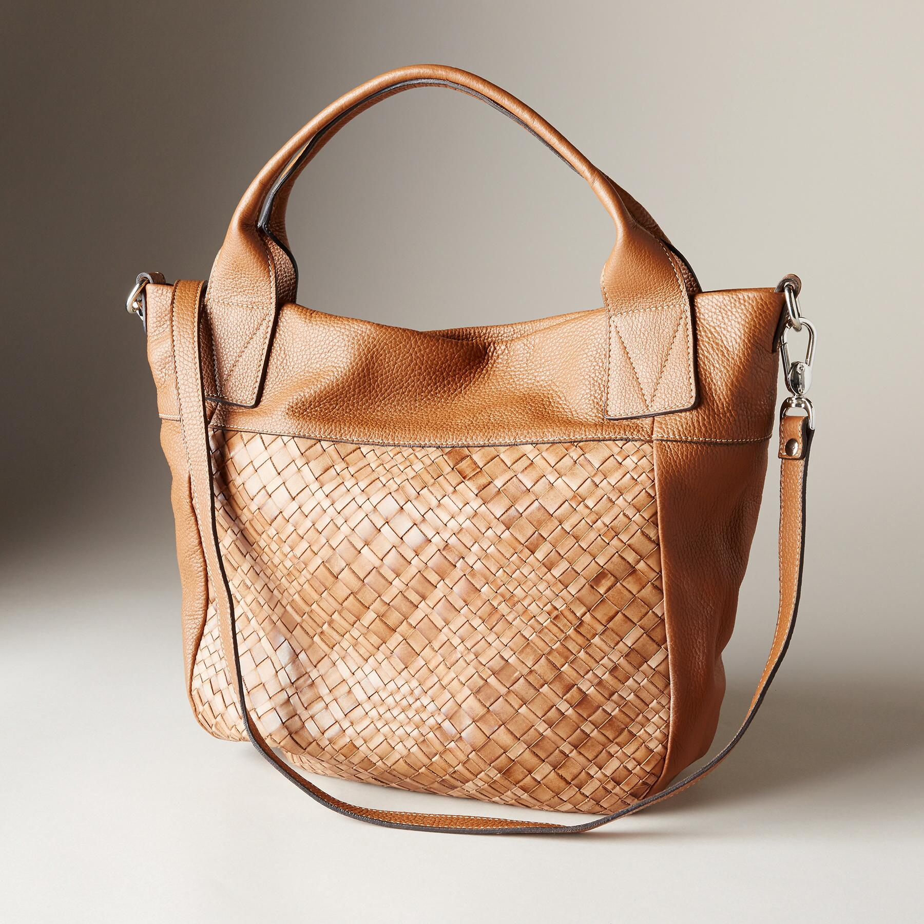 LRG WOVEN FRONT BAG: View 1