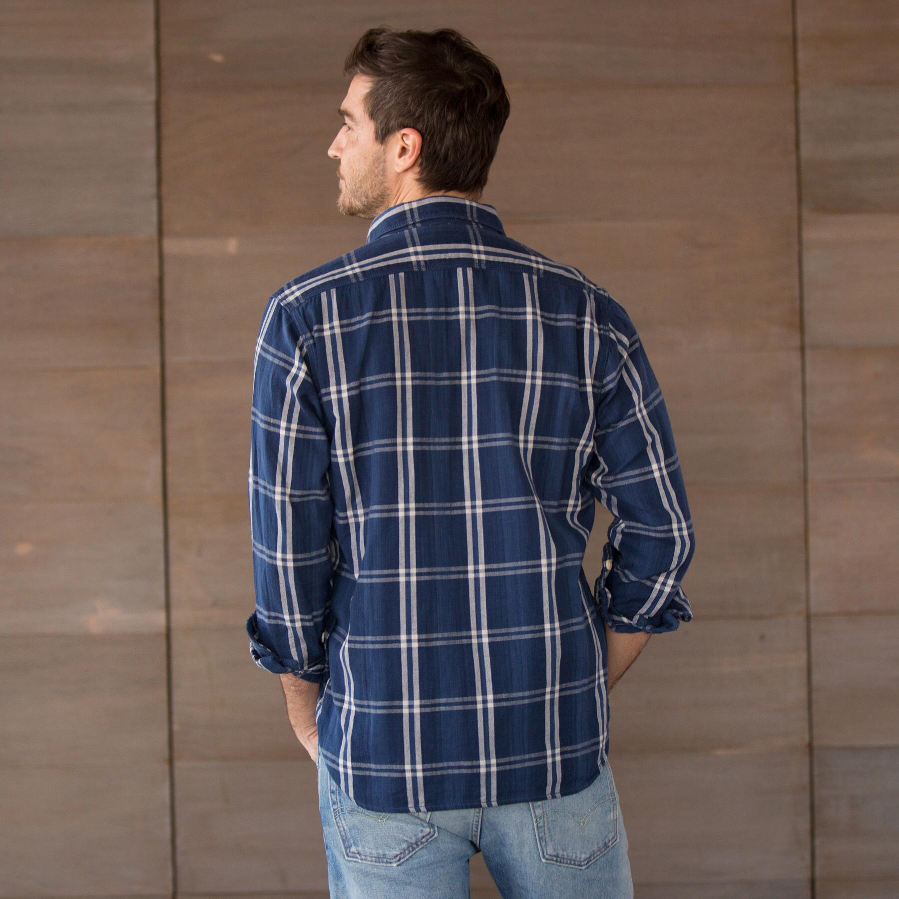WORDSMITH PLAID SHIRT - DENIM: View 2