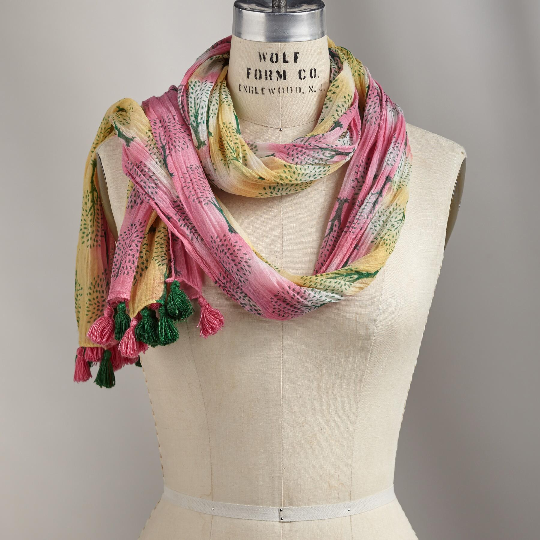 TREE OF LIFE SCARF: View 1