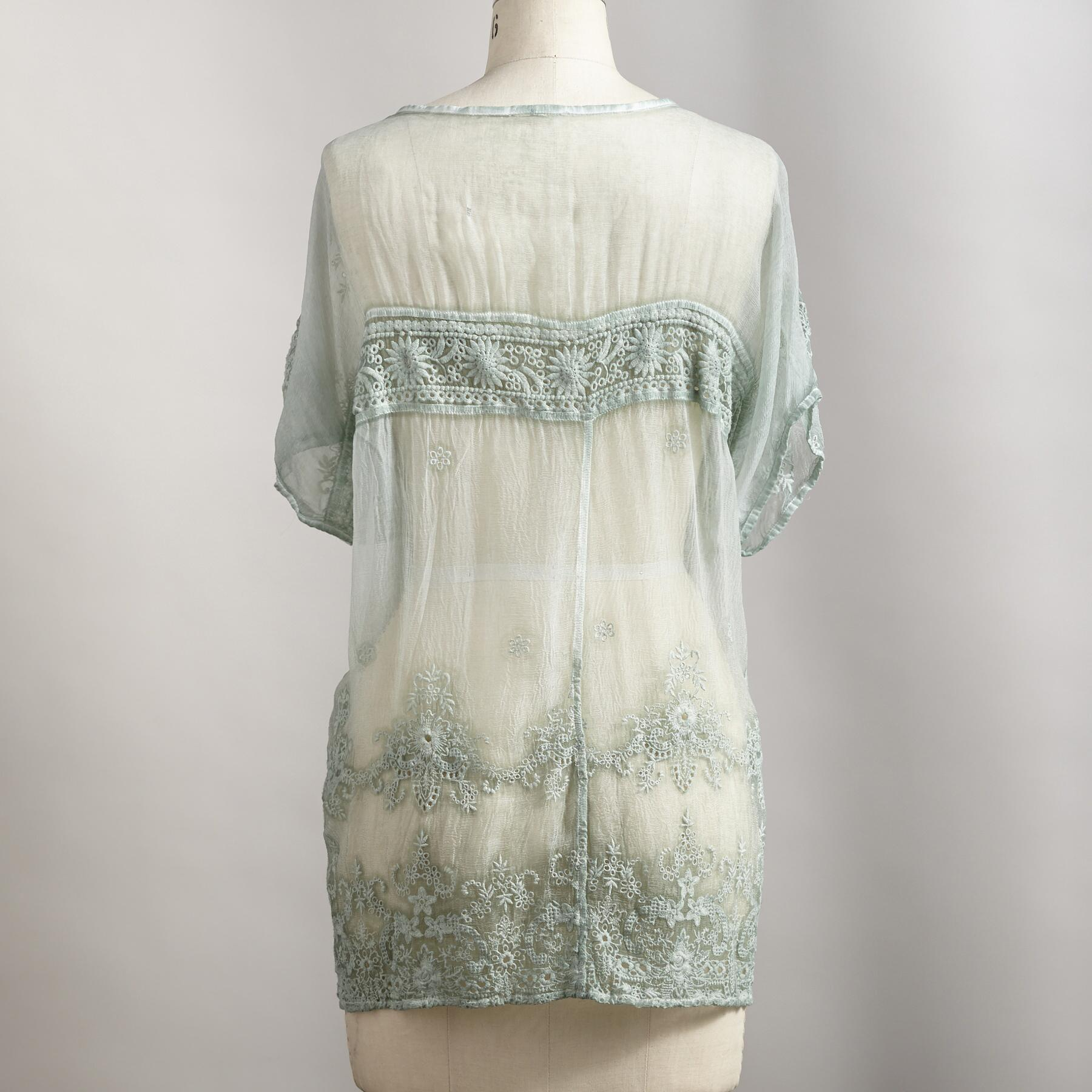 BEHOLD LACE TOP: View 2