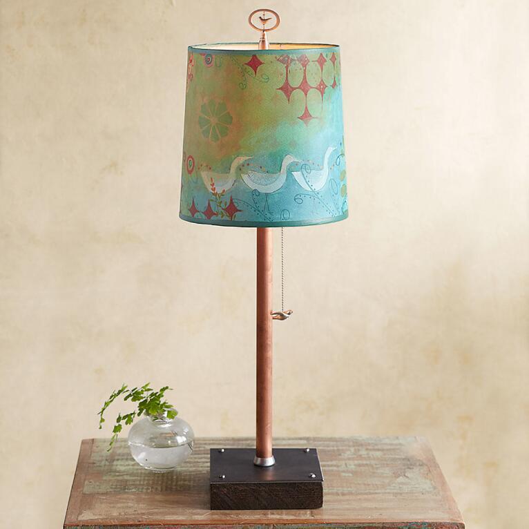 VERDANT BIRDS TABLE LAMP