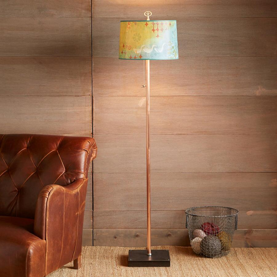 VERDANT BIRDS FLOOR LAMP