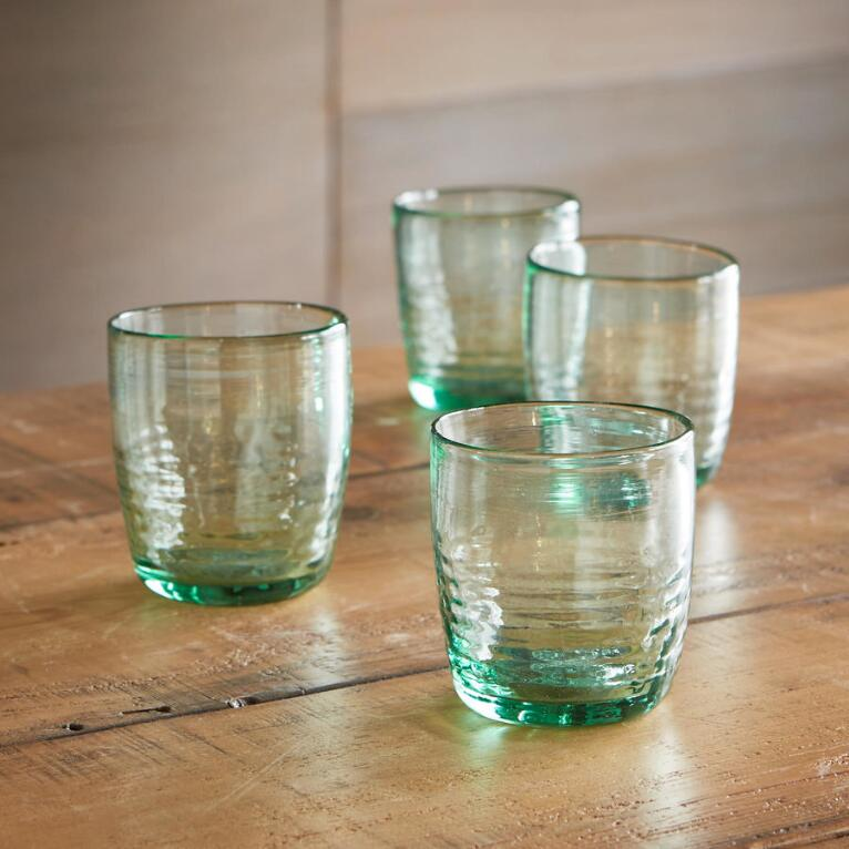 SMALL BOGOTAN TUMBLERS, SET OF 4