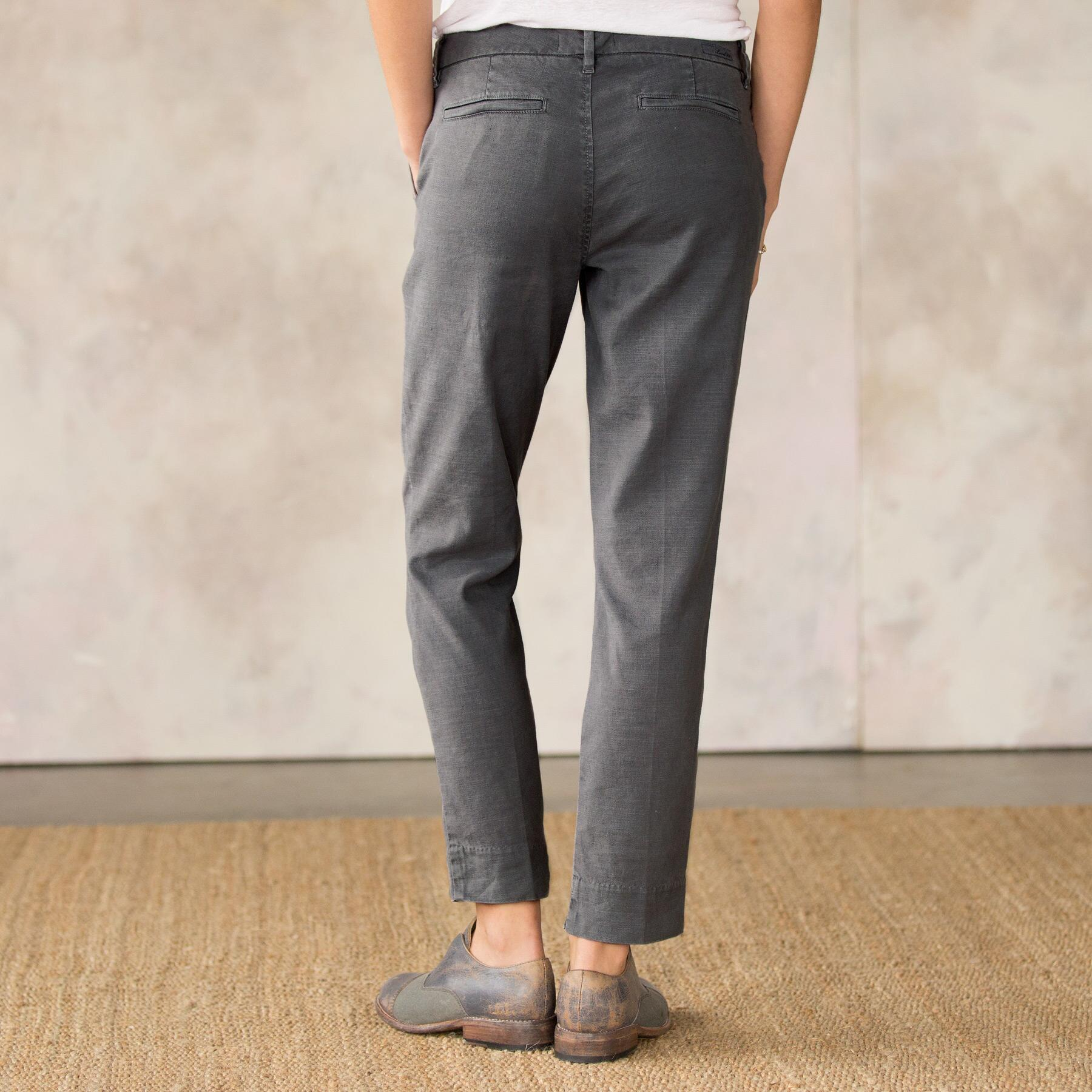 RELAXED CLEAN FRONT PANTS: View 2