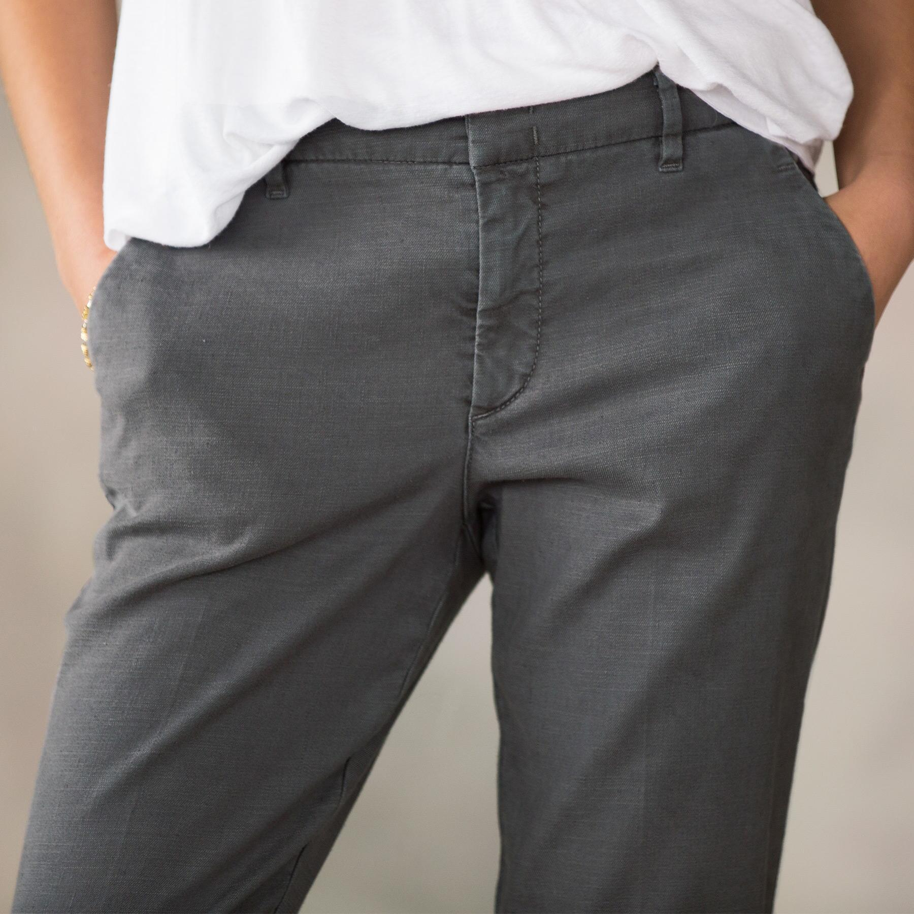 RELAXED CLEAN FRONT PANTS: View 3