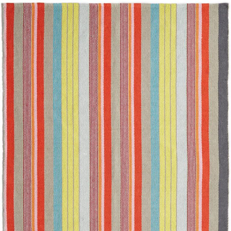 NEWPORT STRIPES WOVEN RUG, LARGE