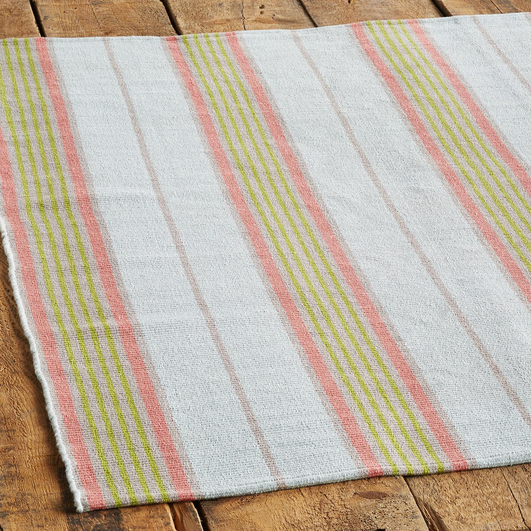 COSTA MESA STRIPES WOVEN RUG, LARGE: View 2