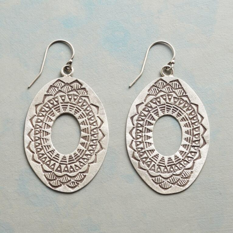 Thai Sunburst Earrings View 1
