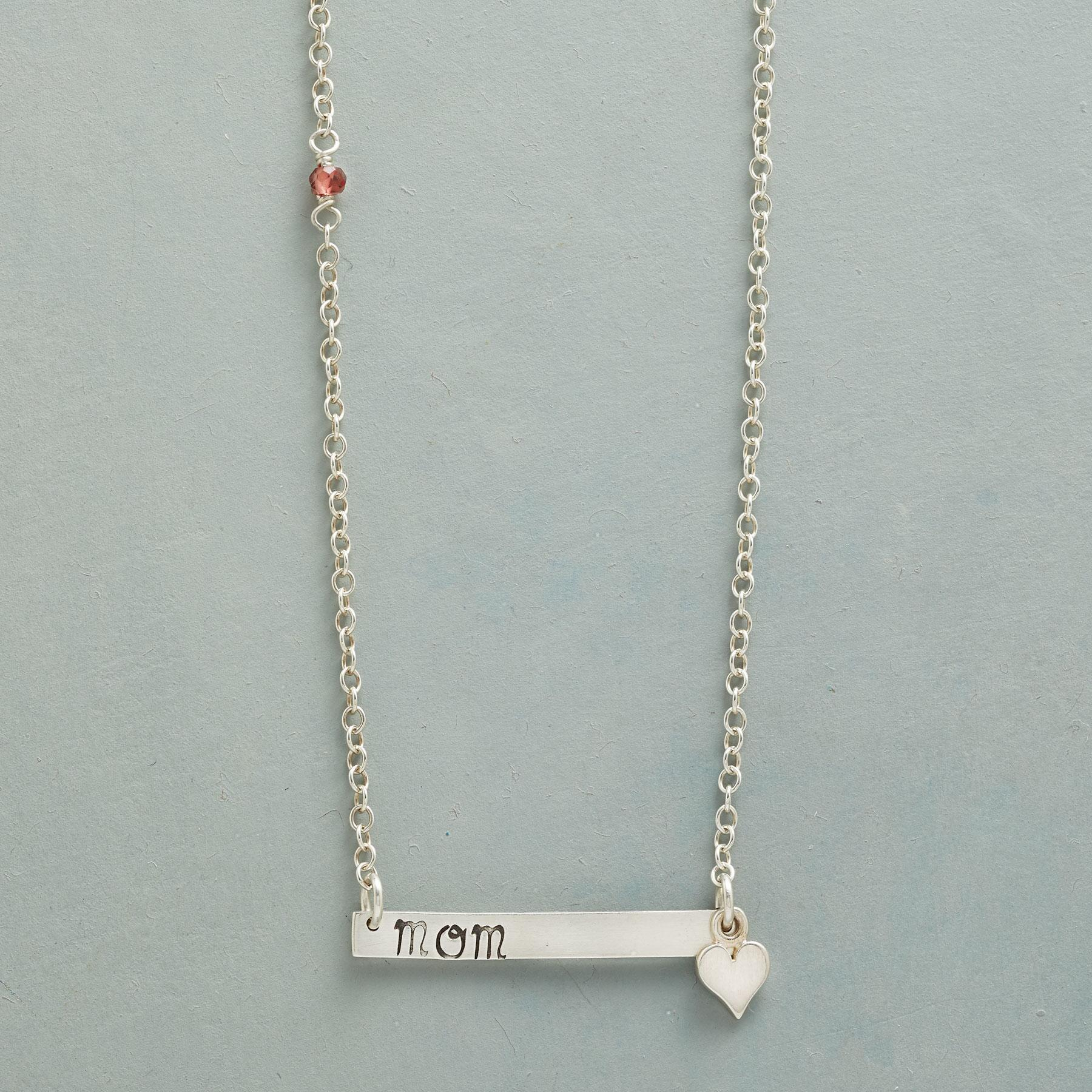 MOM IS LOVE NECKLACE: View 1