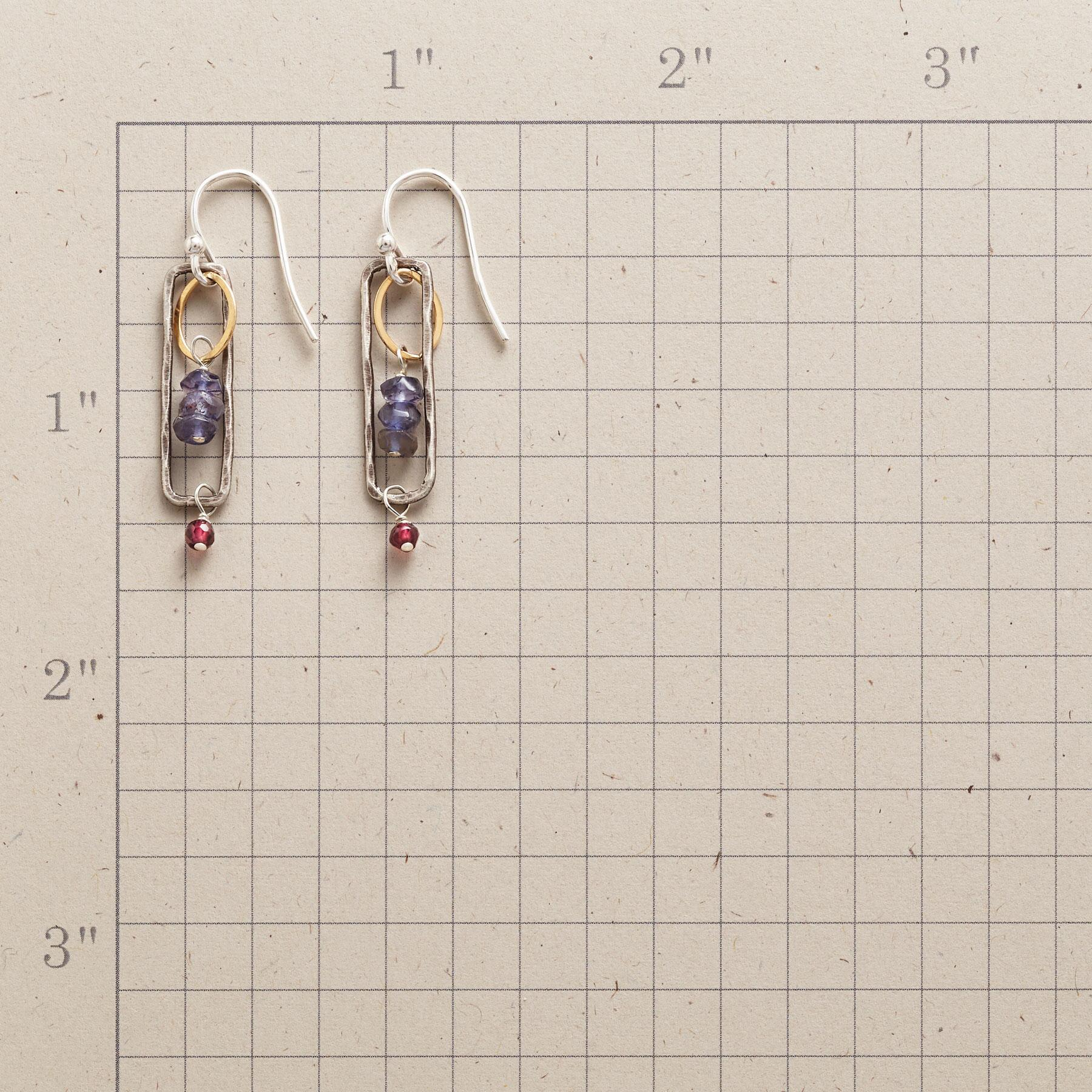 IOLITE BREEZEWAY EARRINGS: View 2
