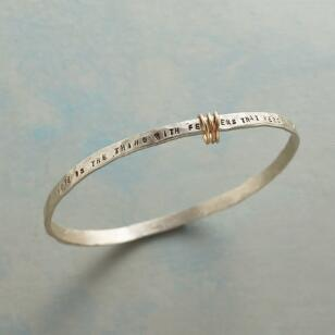 HOPE IS THE THING BANGLE