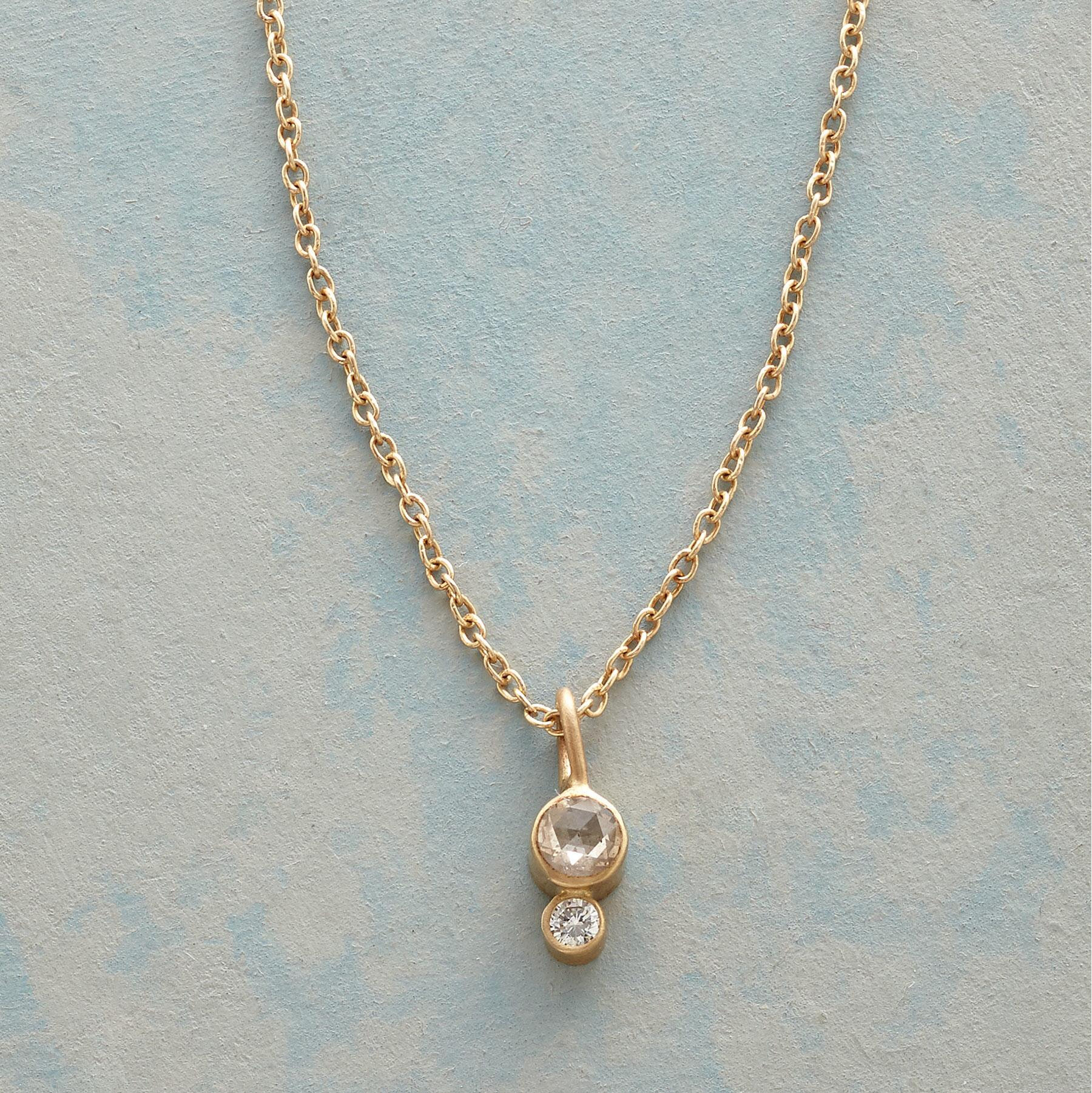 DYAD DIAMOND NECKLACE: View 1