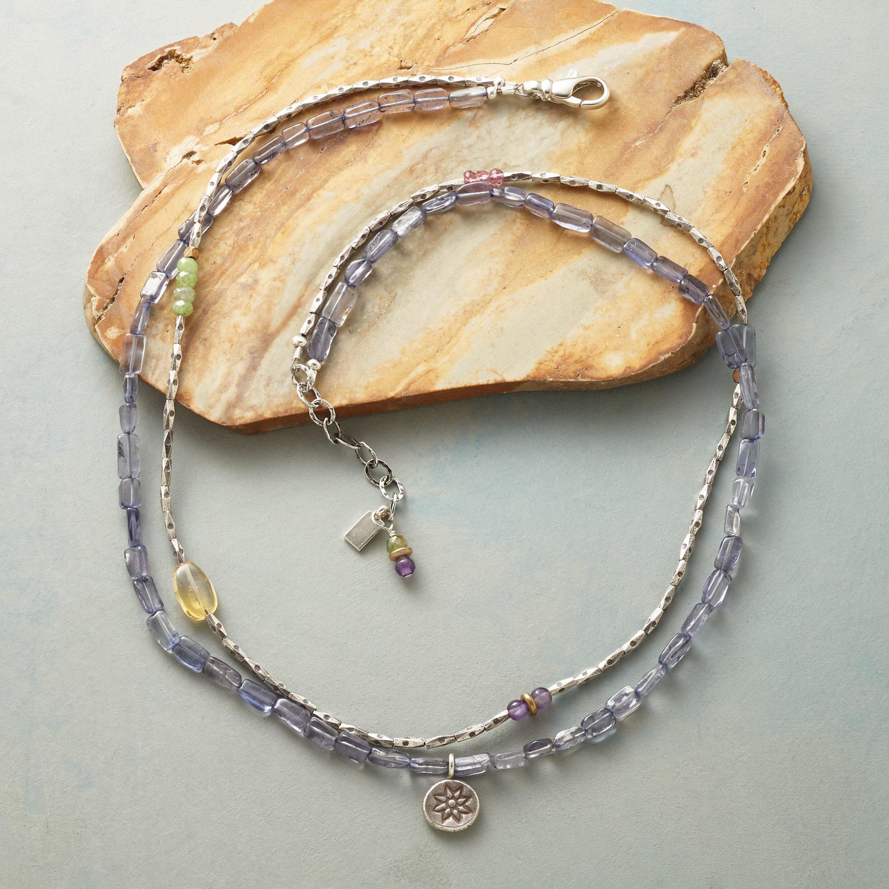 SUNLIGHT AND SKY NECKLACE: View 2