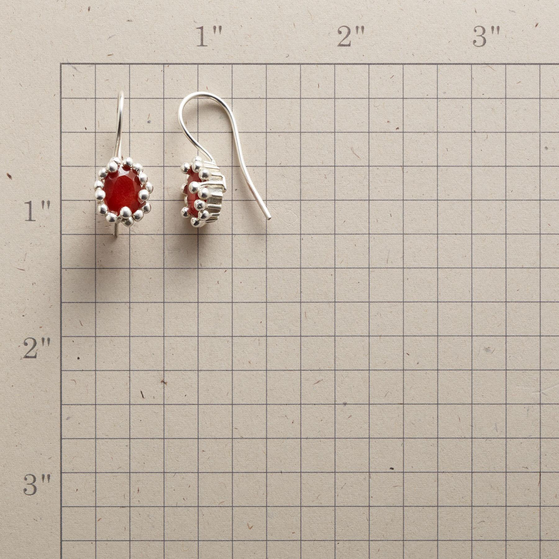 ORANGE FIZZ EARRINGS: View 2