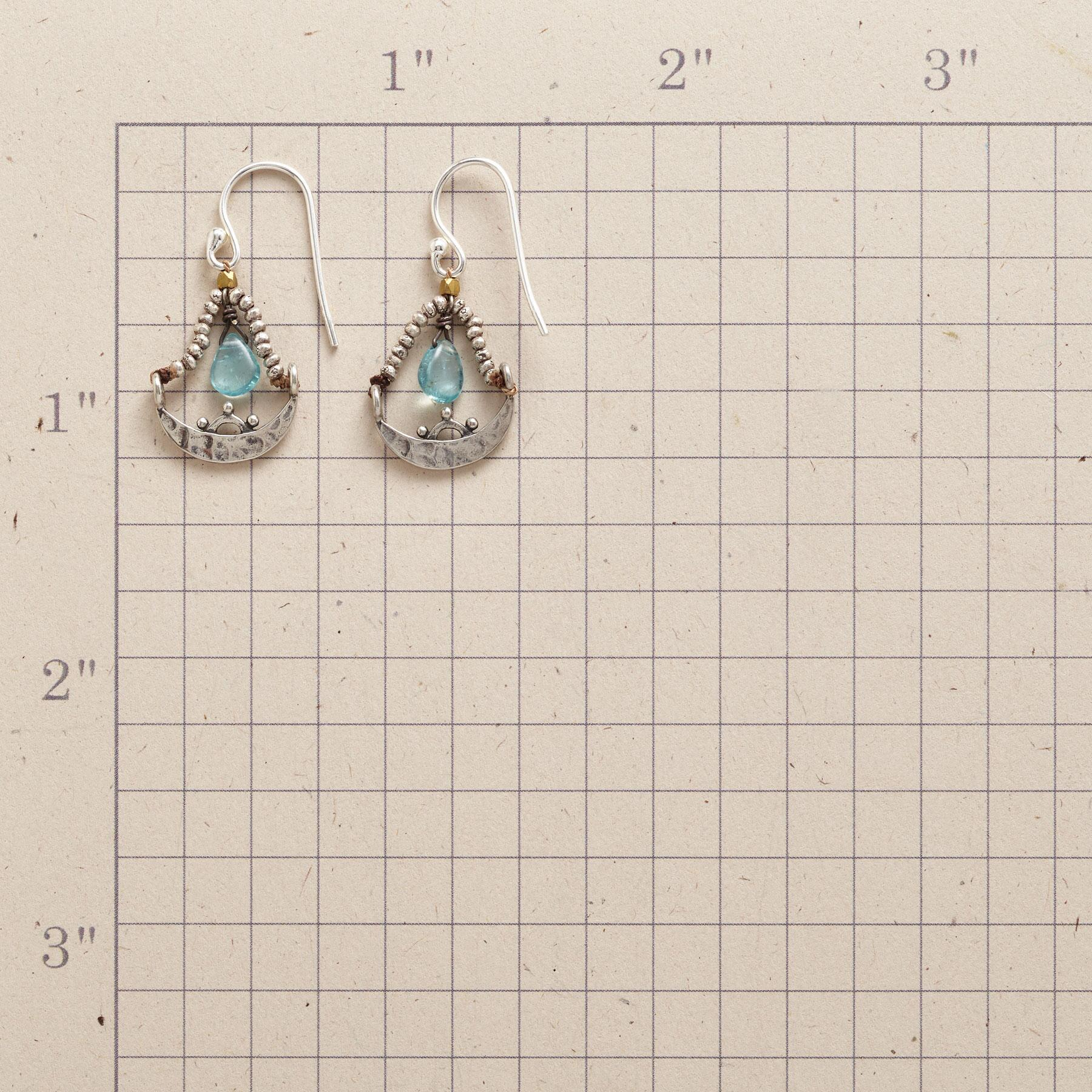 CHANDRA EARRINGS: View 2