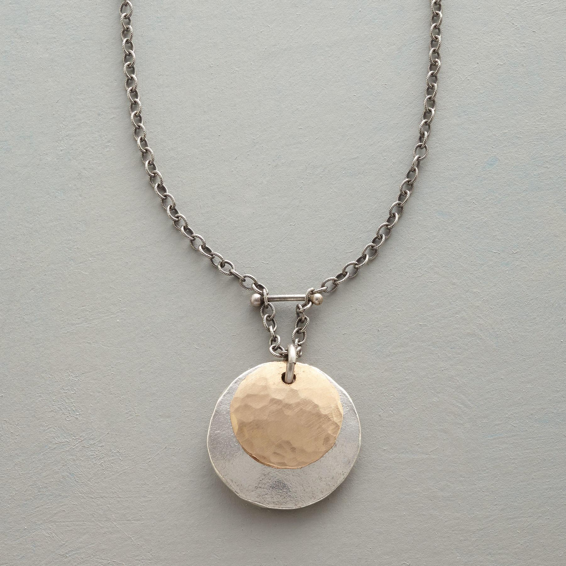 TWO MOONS NECKLACE: View 1