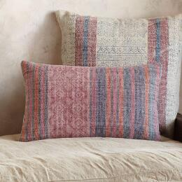 SUNFARER STRIPE RECTANGLE PILLOW