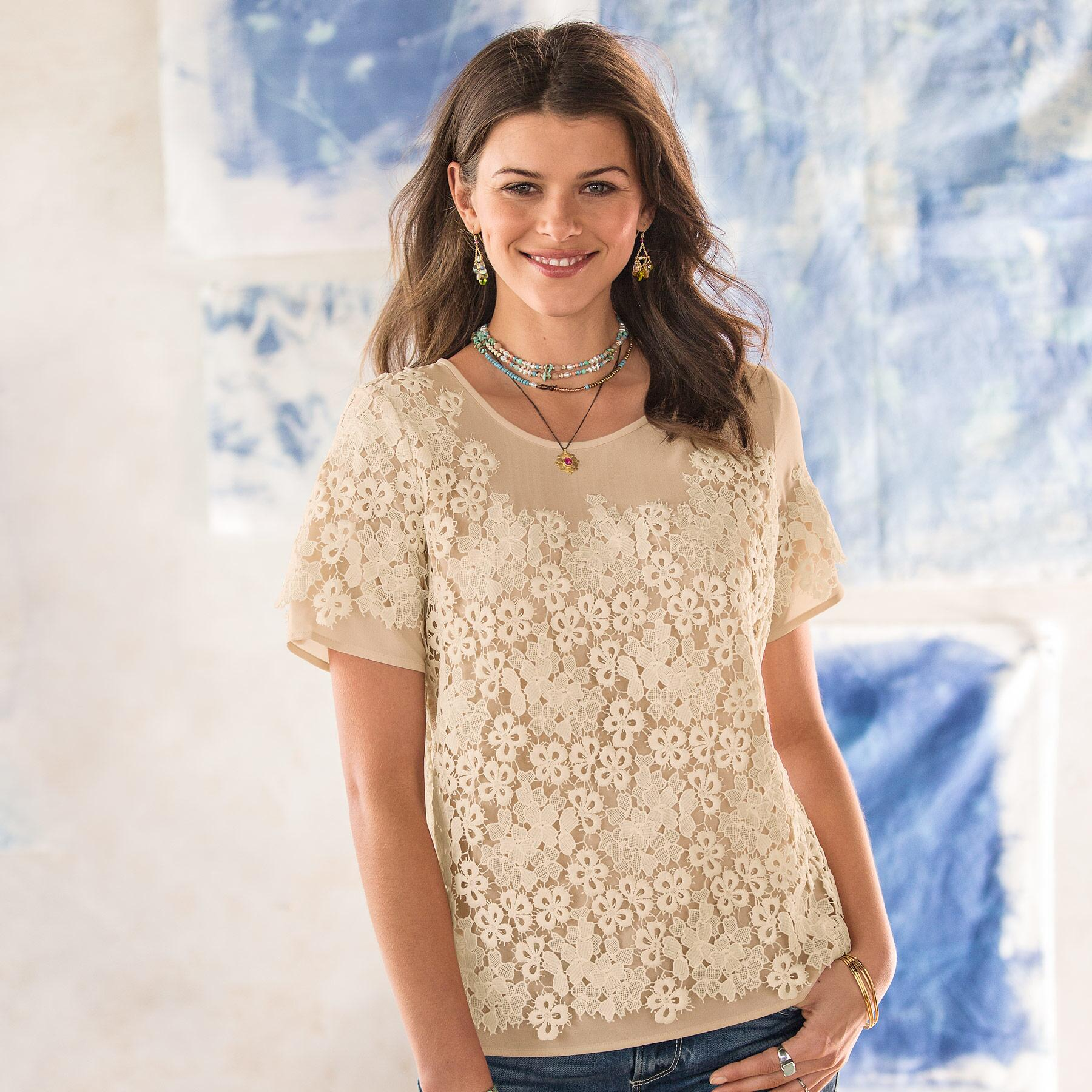 LOVE IN A MIST BLOUSE: View 1