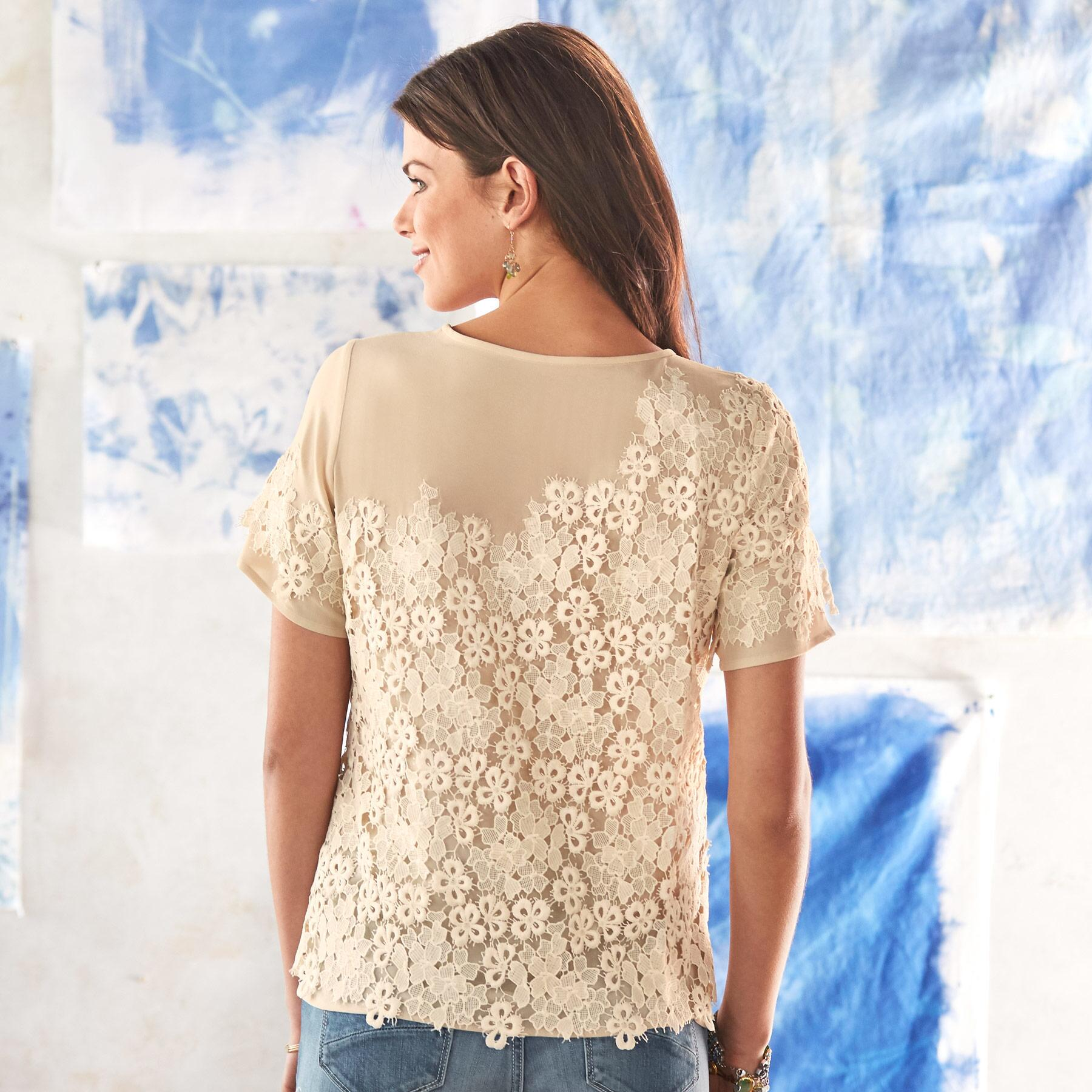 LOVE IN A MIST BLOUSE: View 2