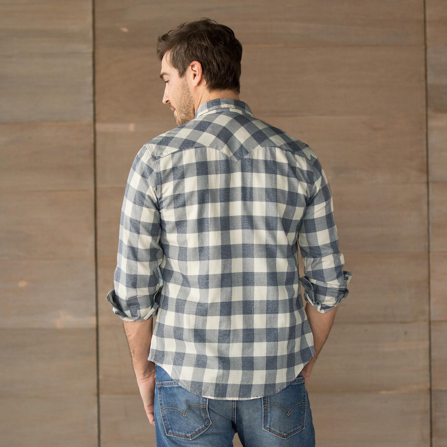 LEVIS BARSTOW SHIRT DK GRY: View 2