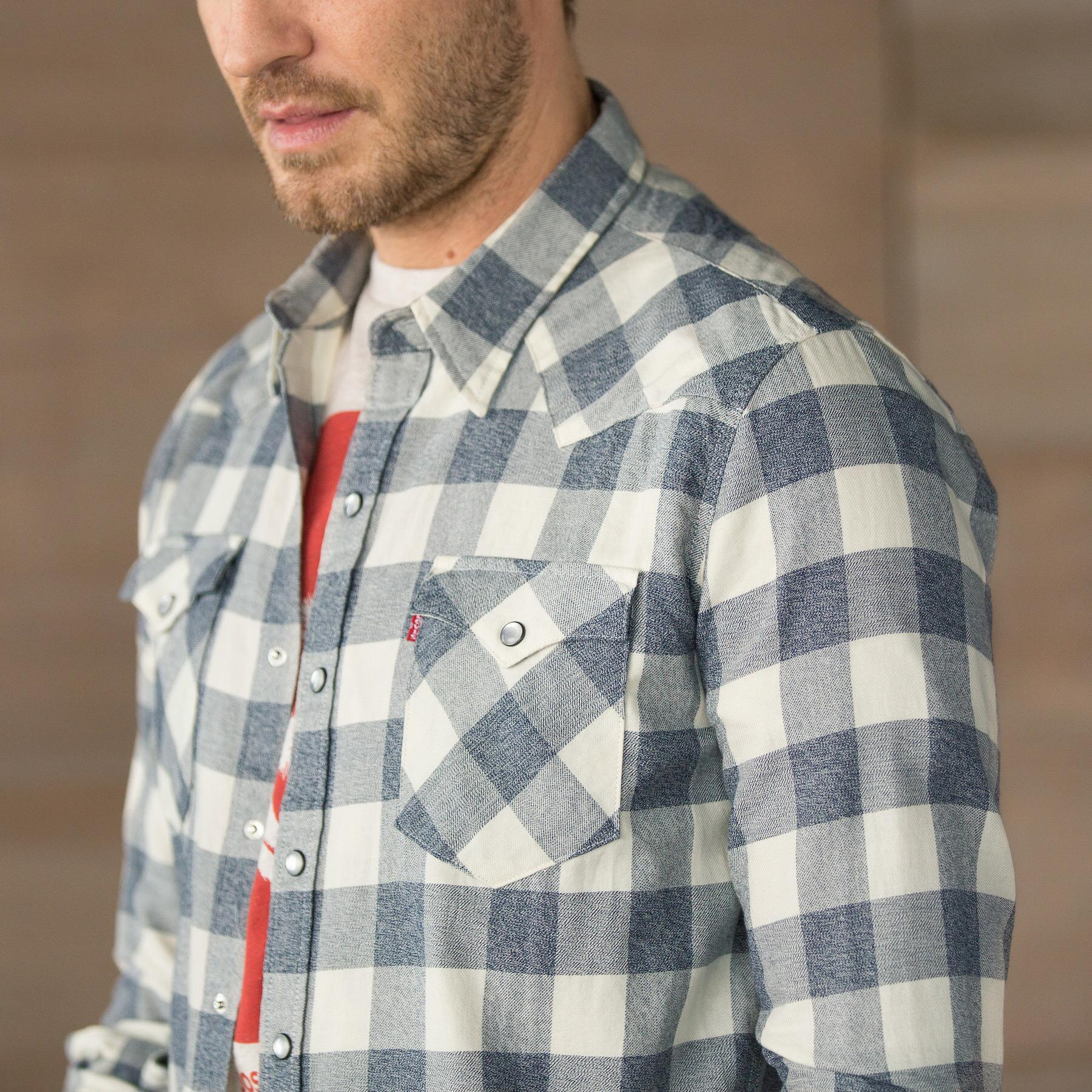 LEVIS BARSTOW SHIRT DK GRY: View 3