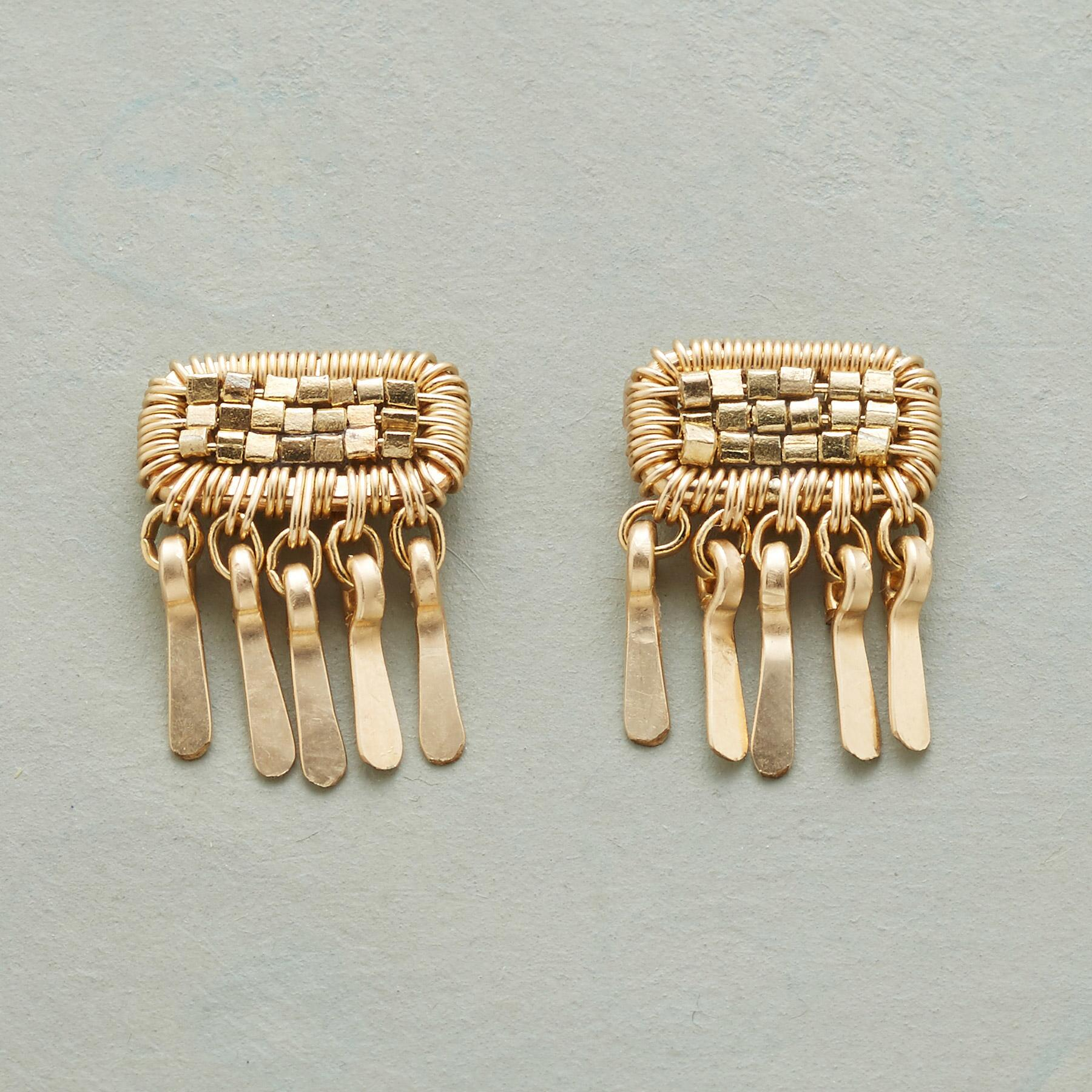 PATCH OF GOLD EARRINGS: View 1